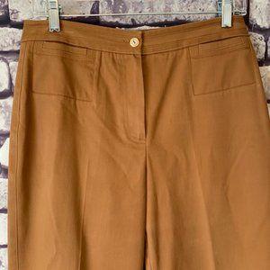 St. John Sport Camel Color Pant Size 6